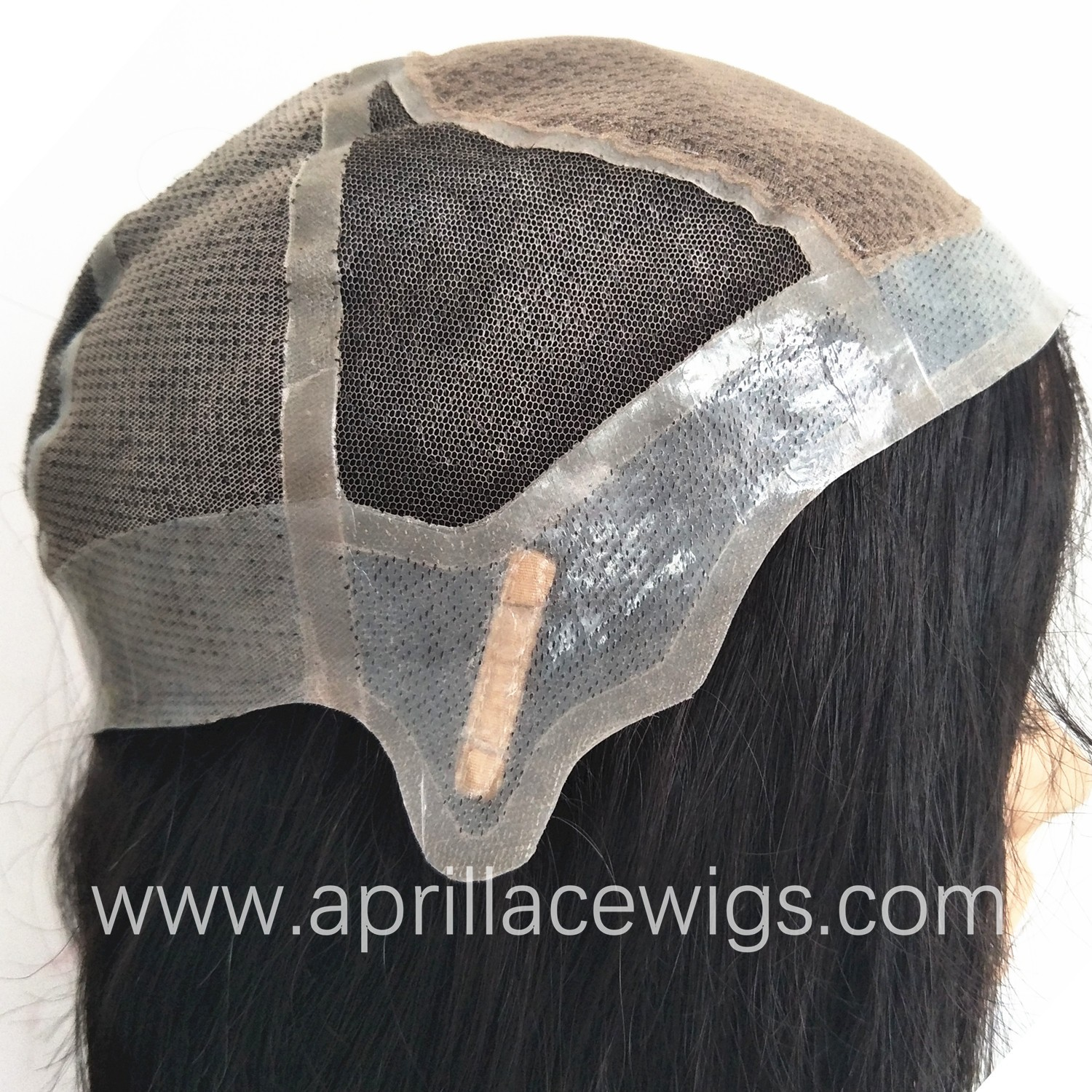 glueless silicone wig virgin human hair