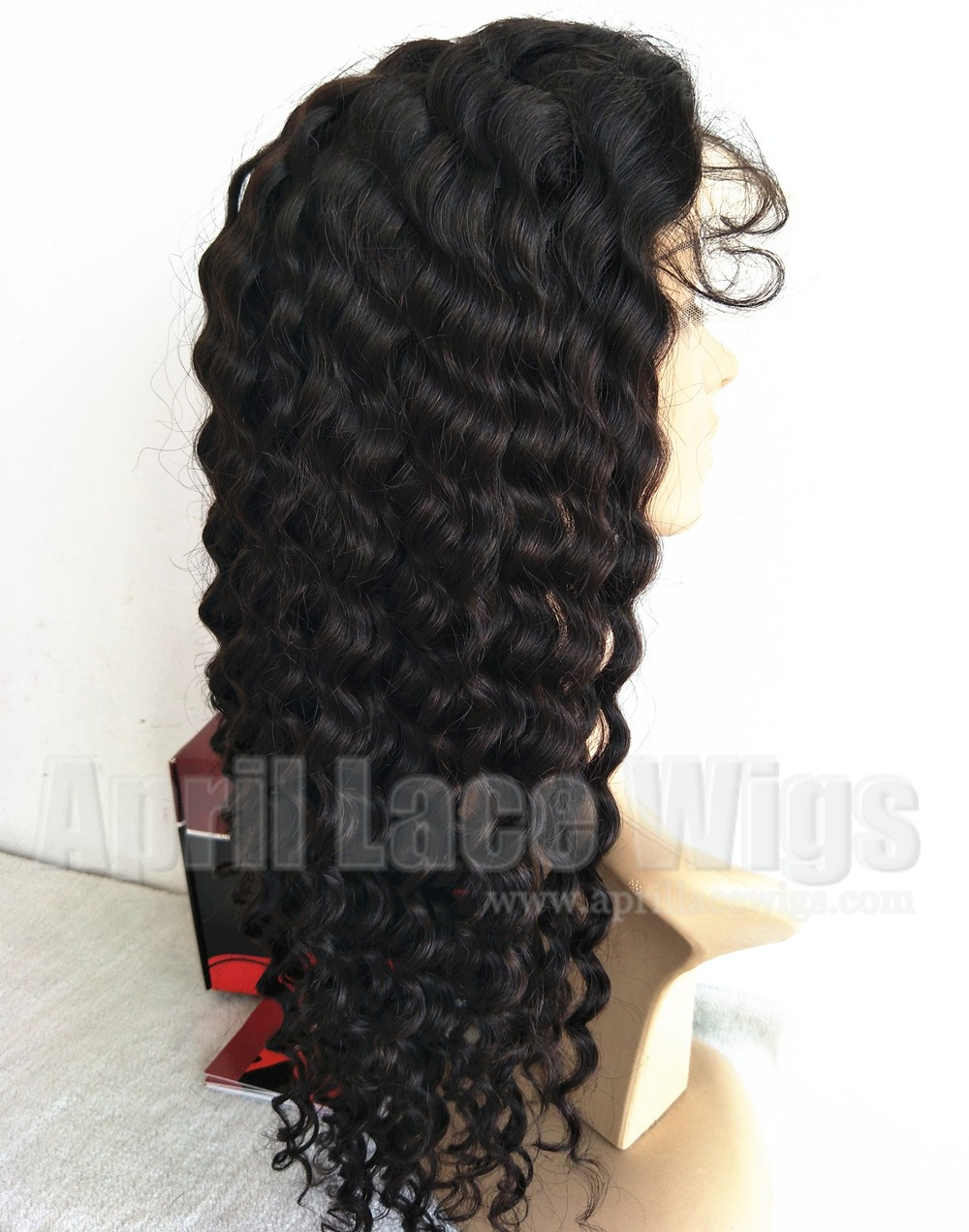 curly lace front wig glueless wig