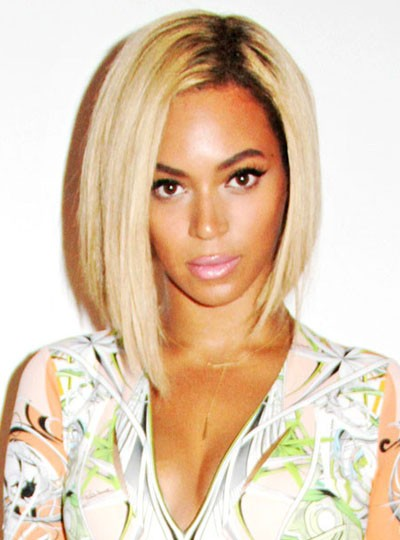 ombre blonde beyonce bob wig full lace wig silk top