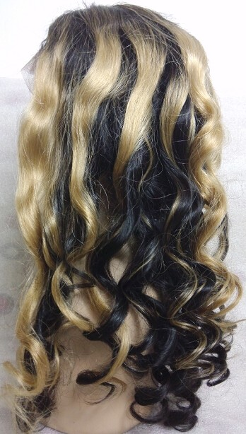 Brazilian virgin ombre color