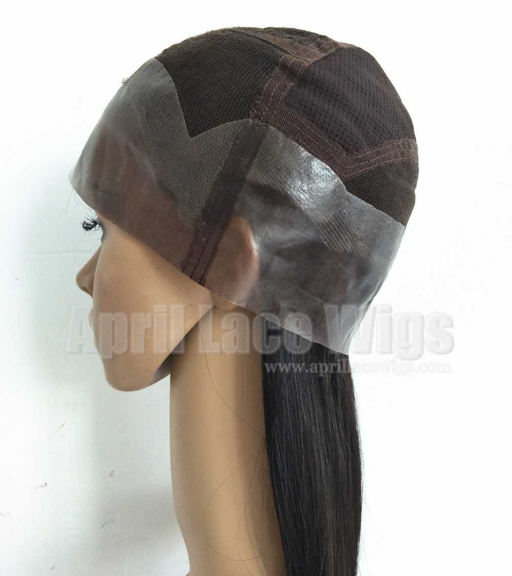Thin skin full lace wig with silk top Poly PU