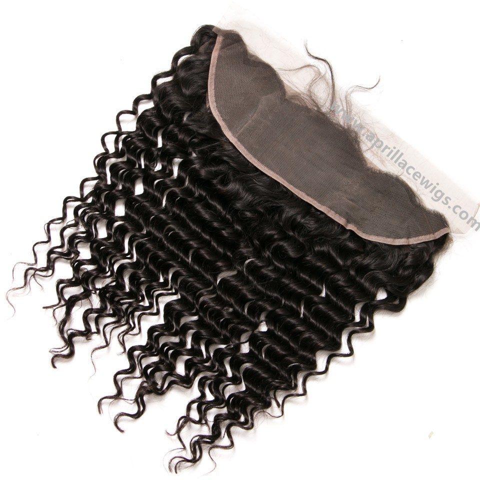 Brazilian Virgin Deep Wave Lace Frontal
