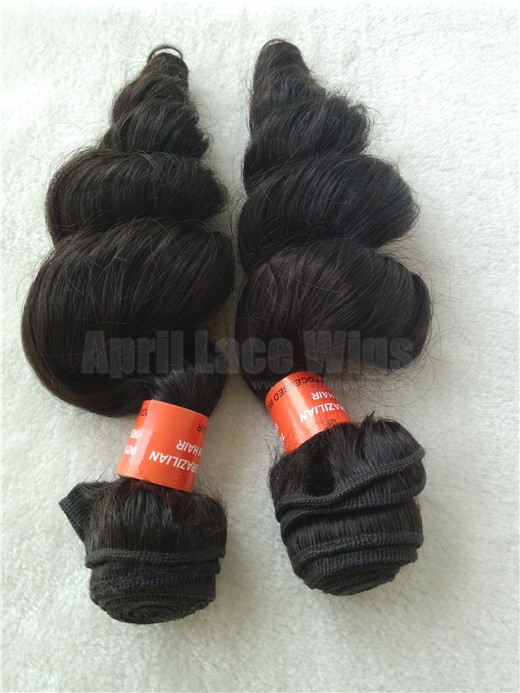 brazilian virgin loose wave wefts, weaving, extensions