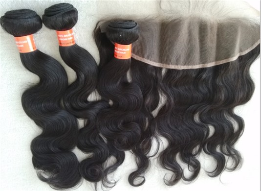 Brazilian virgin body wave hair wefts