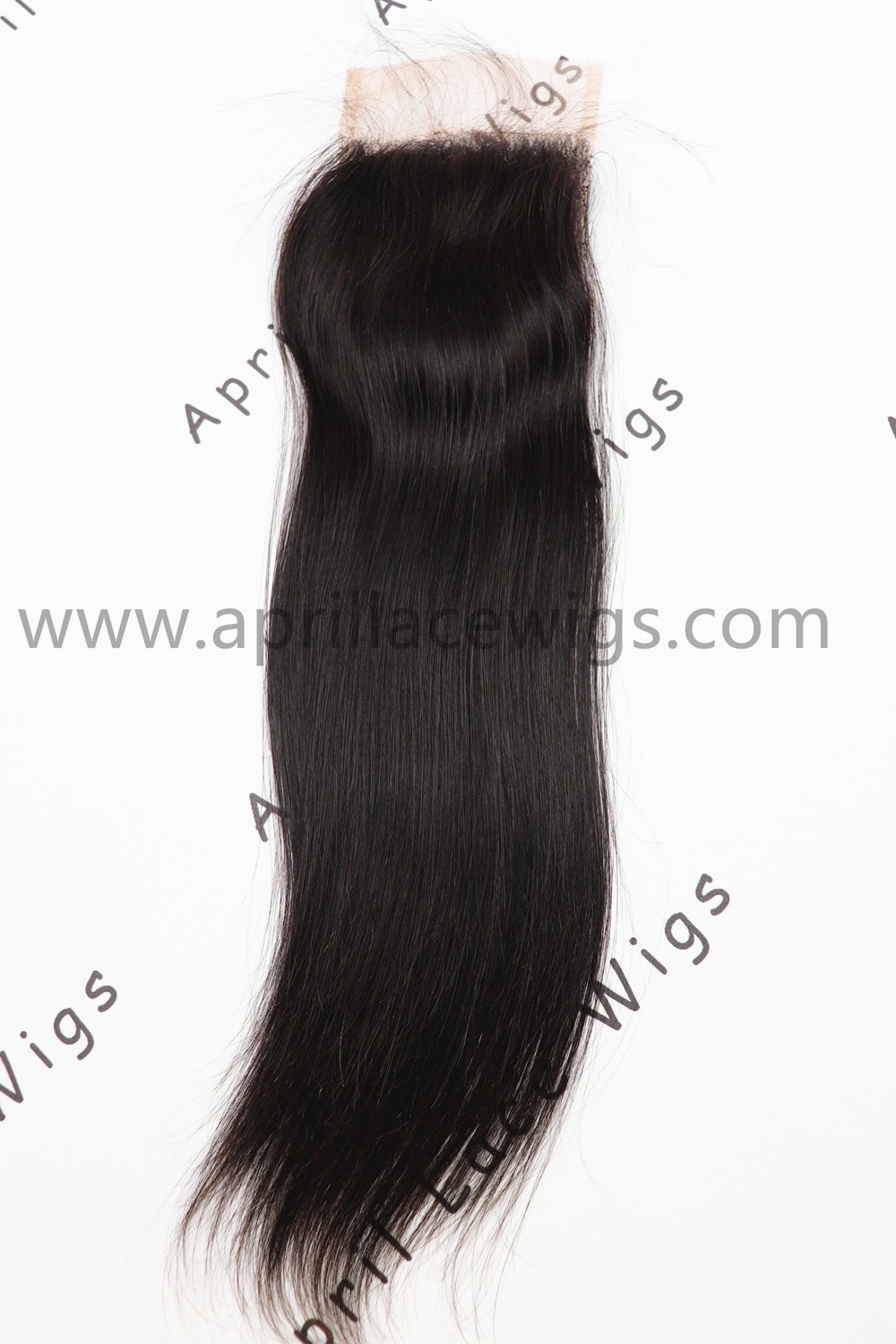 100% virgin human hair straight lace closure