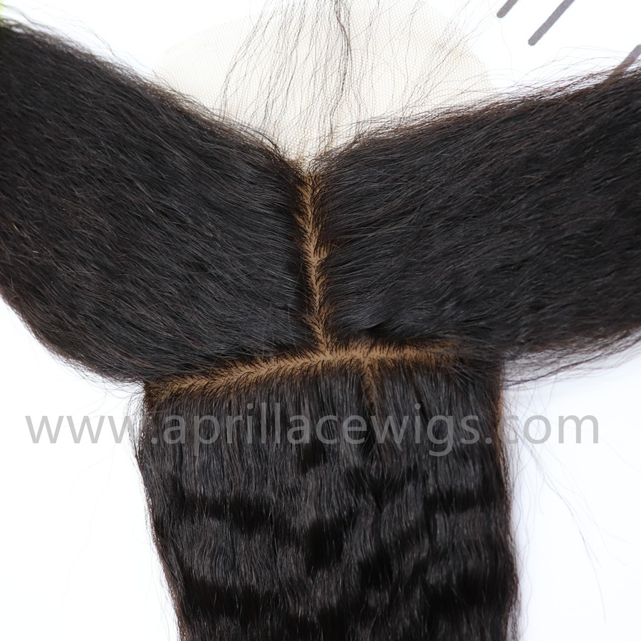 italian yaki weaving, italian yaki silk base closure