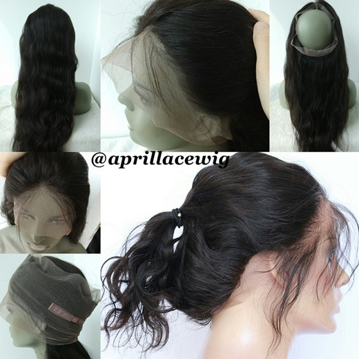 360 Lace Frontal Natural Wave Brazilian Virgin