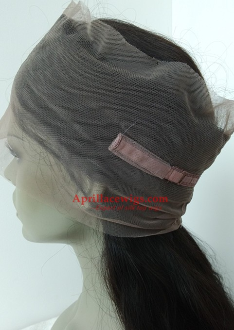 360 Lace Frontal Natural Wave Brazilian Virgin glueless cap