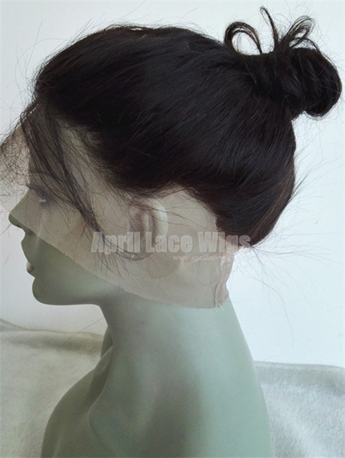 360 Lace Frontal Body Wave Brazilian Virgin bun