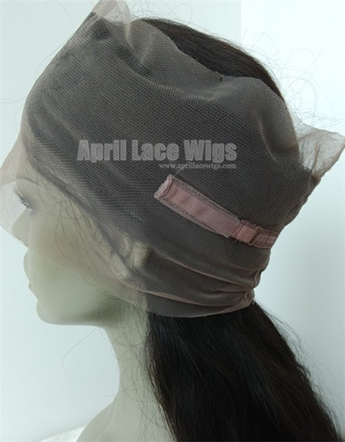 360 Lace Frontal Body Wave Brazilian Virgin glueless cap
