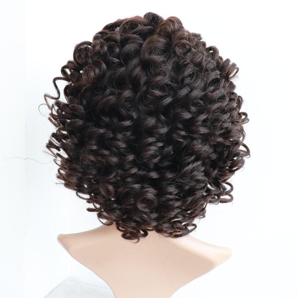 big curl full lace wig