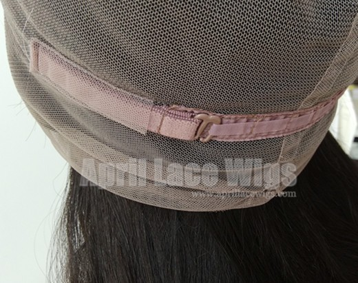 Brazilian straight 360 frontal glueless cap
