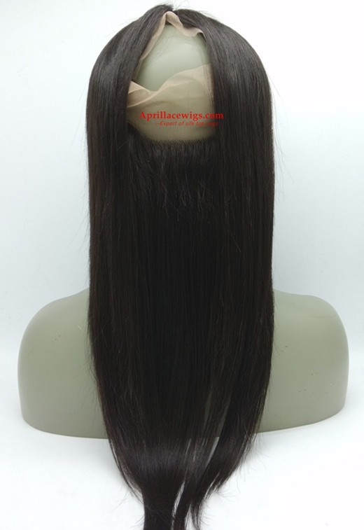 360 Lace Frontal straight Brazilian Virgin
