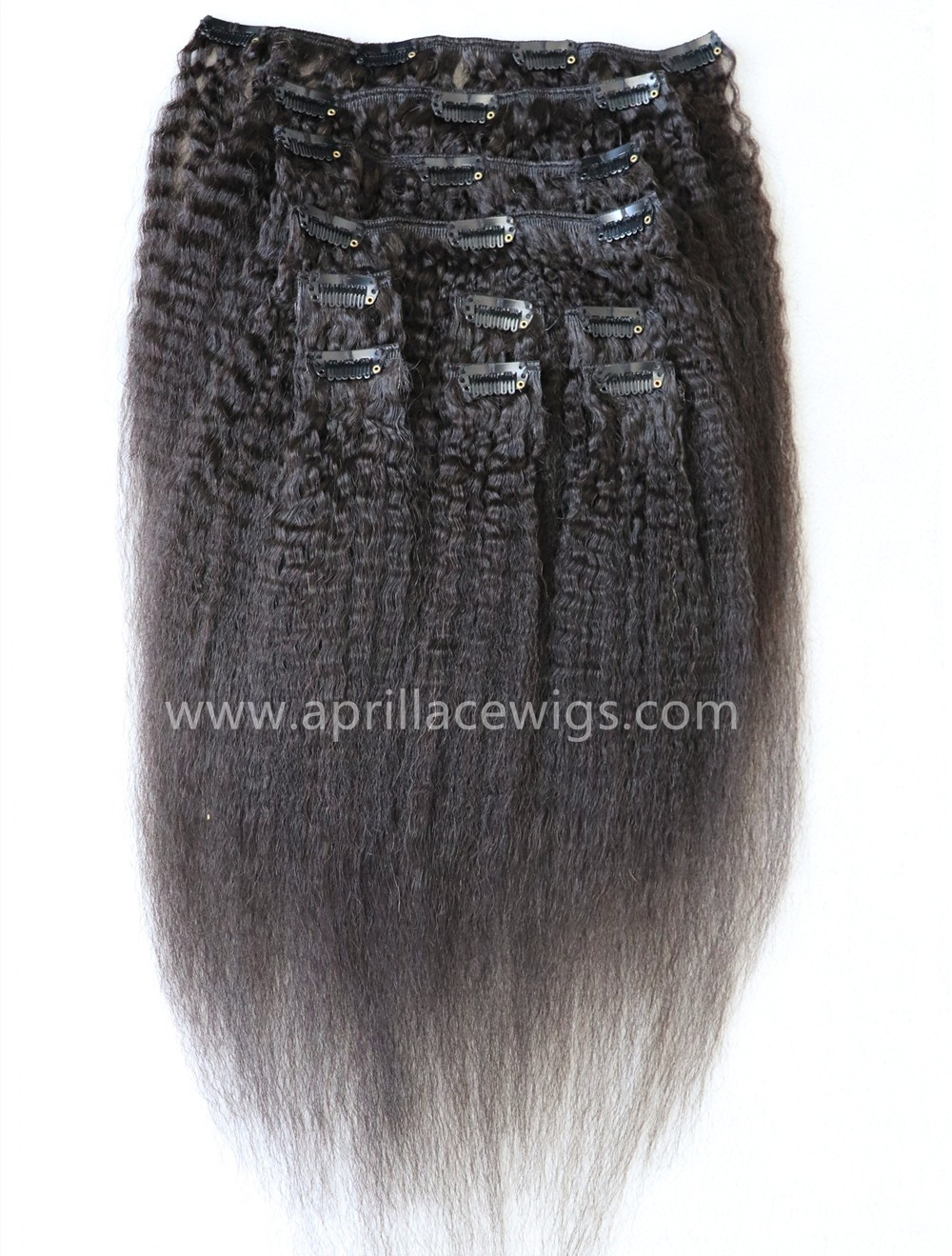 italian yaki hair, clip in extensions