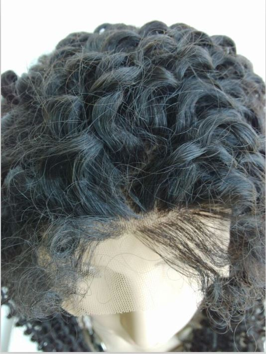 Kinky curl in the root of hair