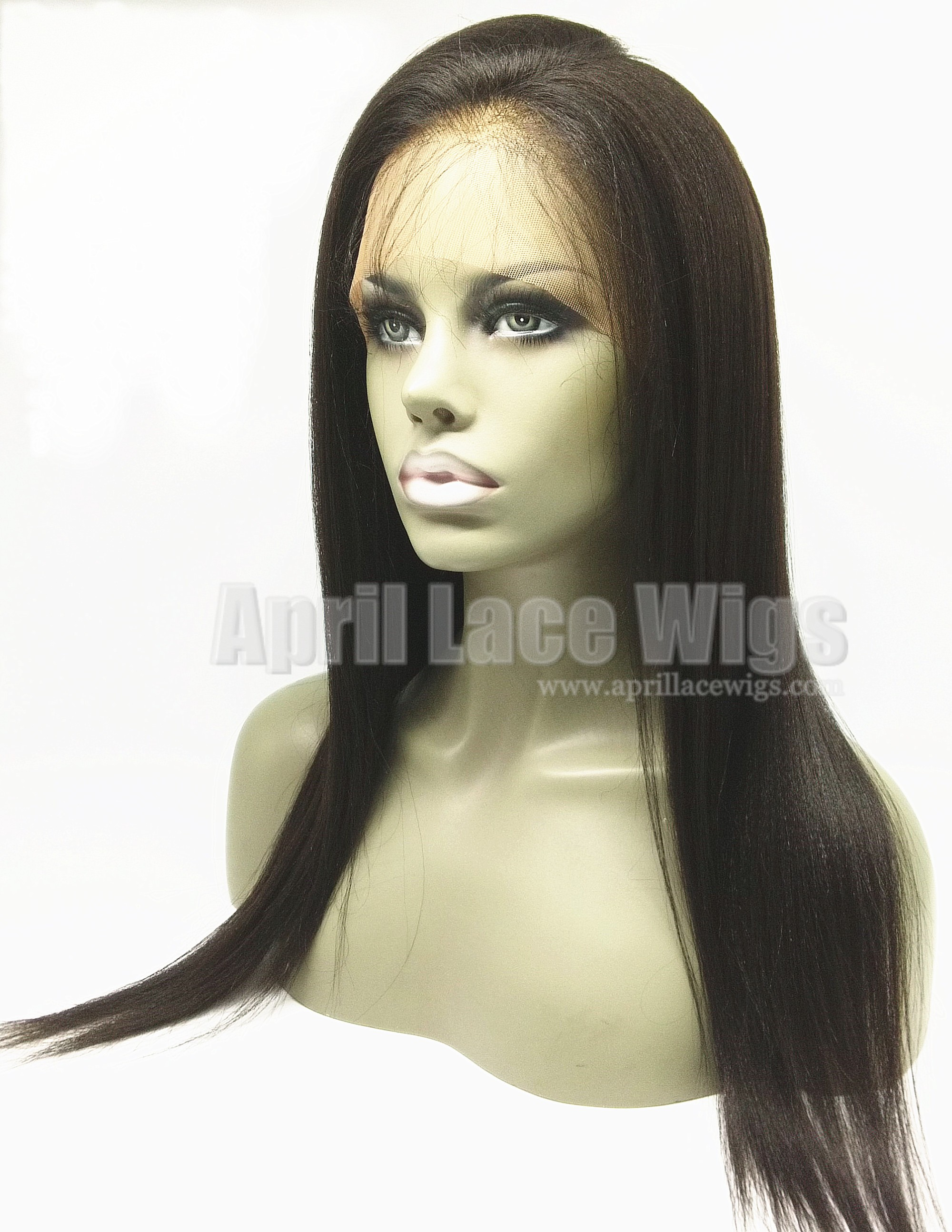 virgin hair light yaki 360 lace frontal