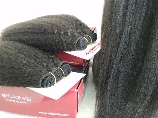 Italian yaki 360 frontal and 2 bundles wefts