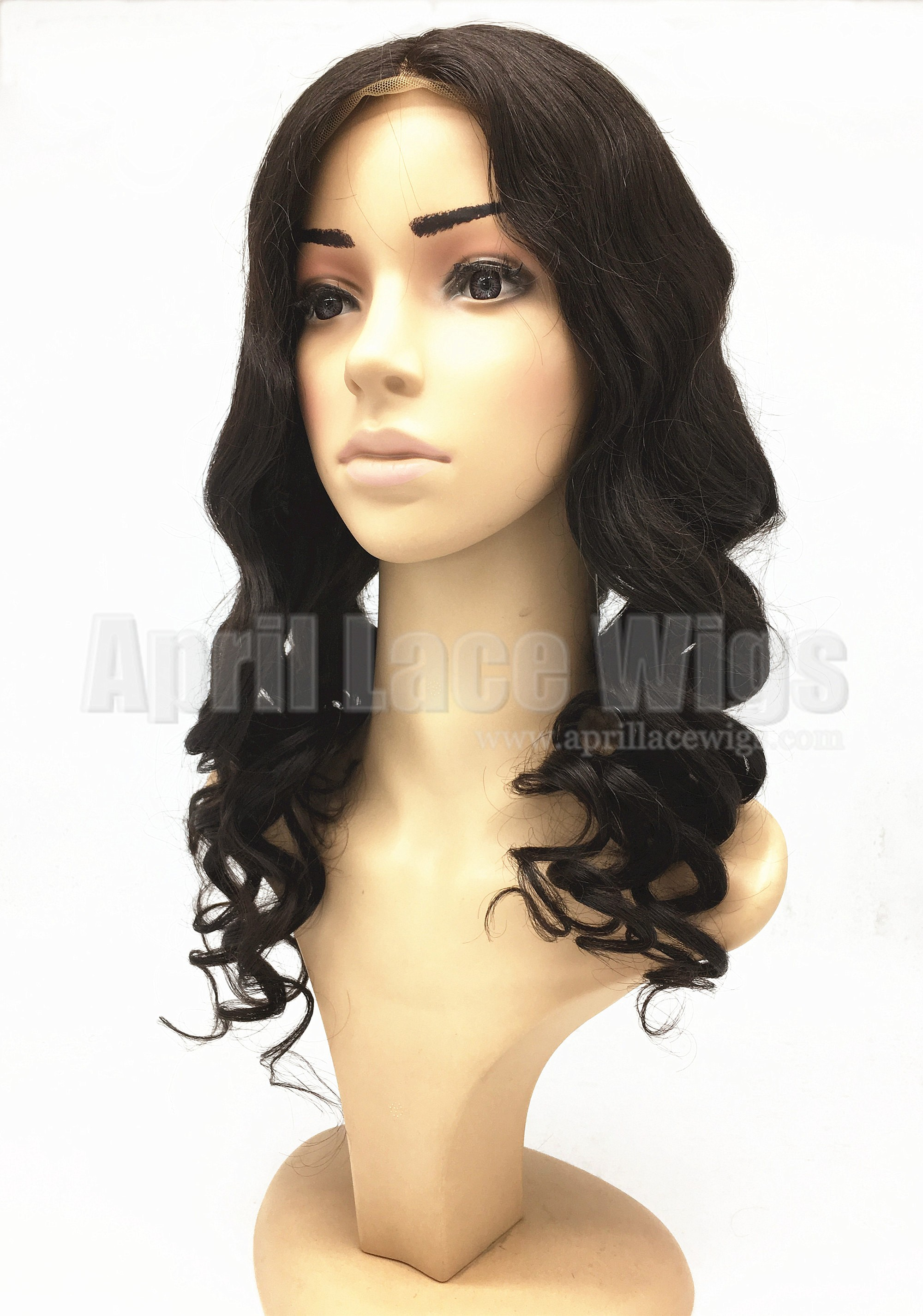 brazilian virgin loose ocean wave glueless wig