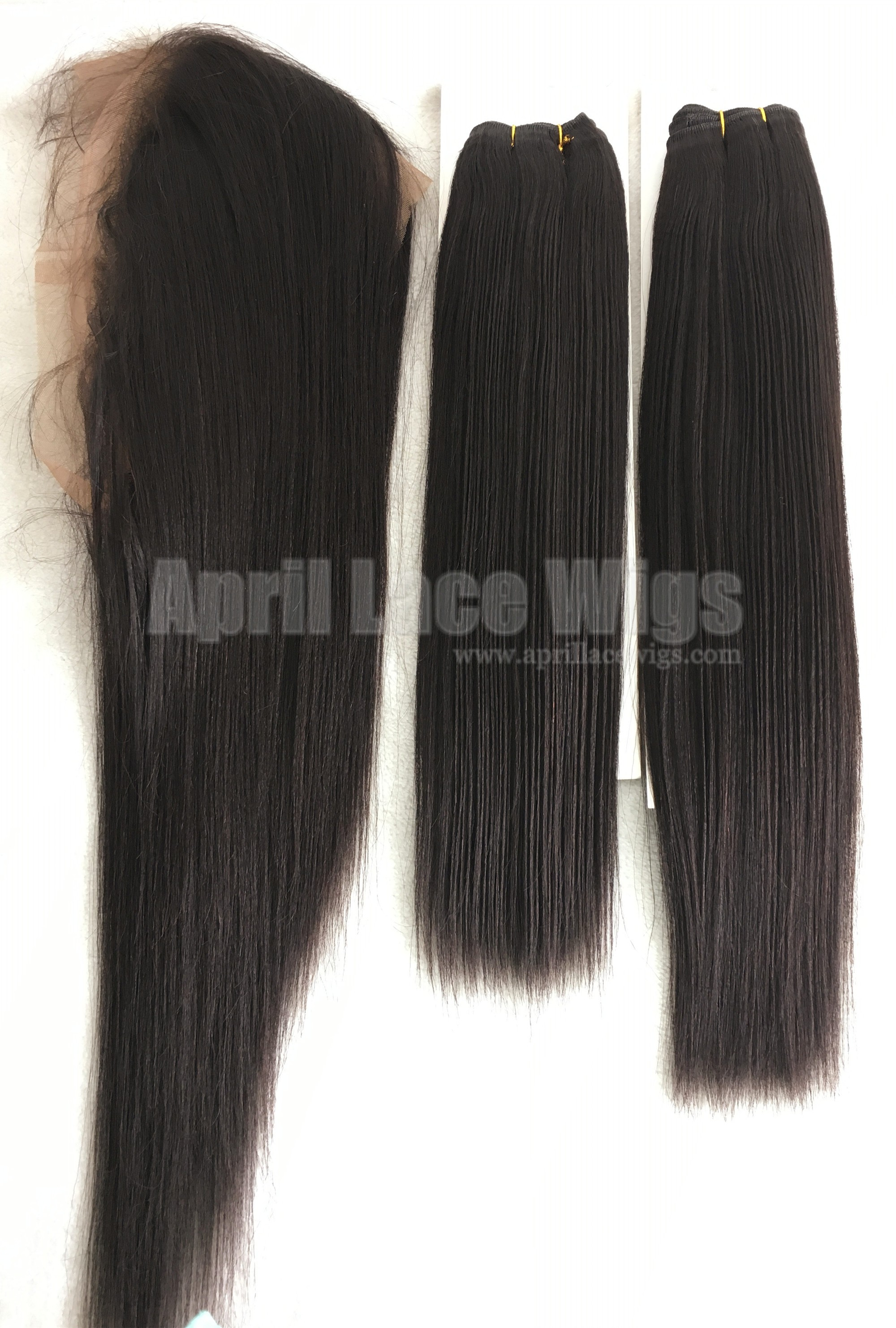 bundles deal for light yaki 360 frontal and wefts