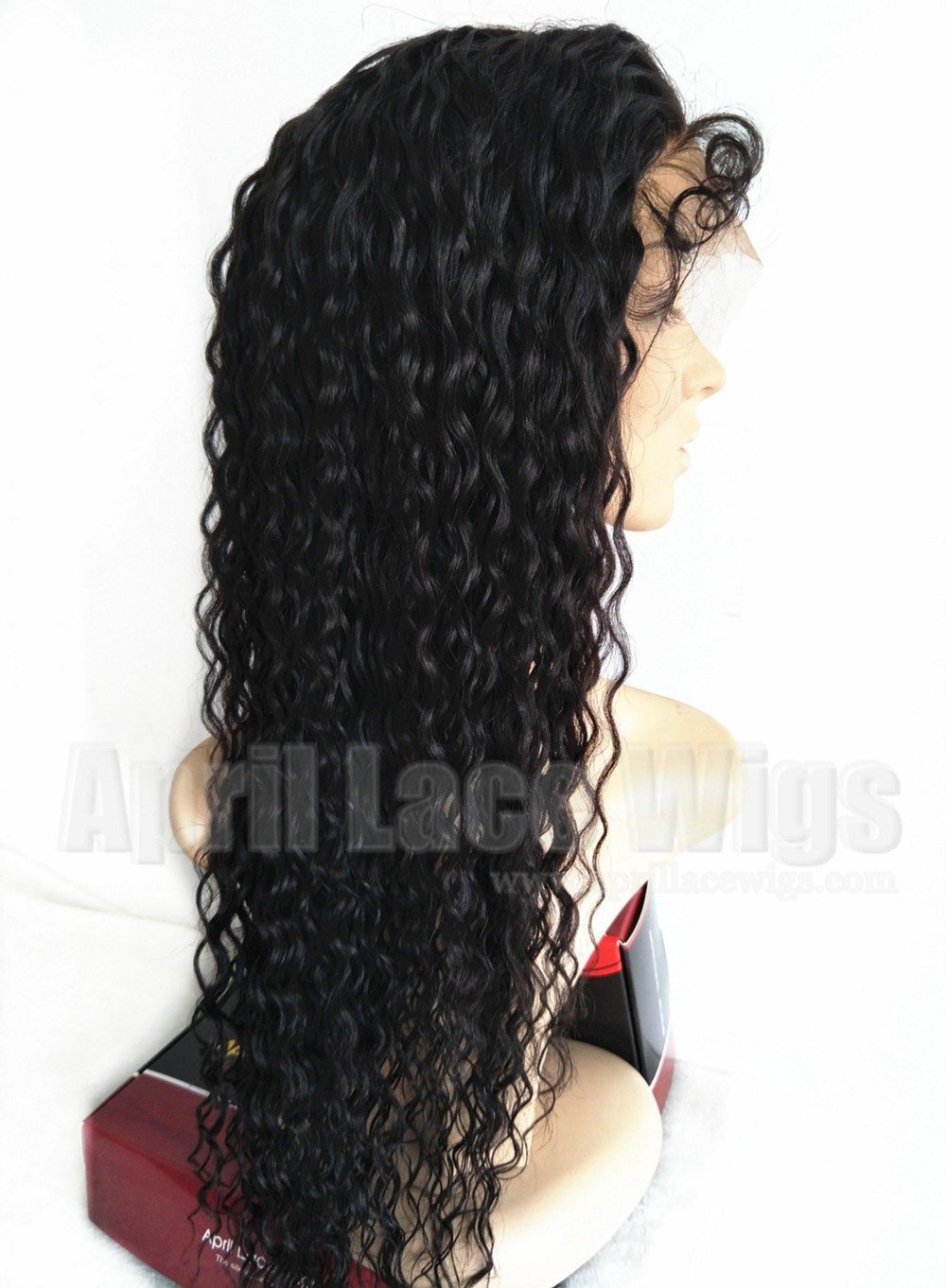 wet wave lace wig bun