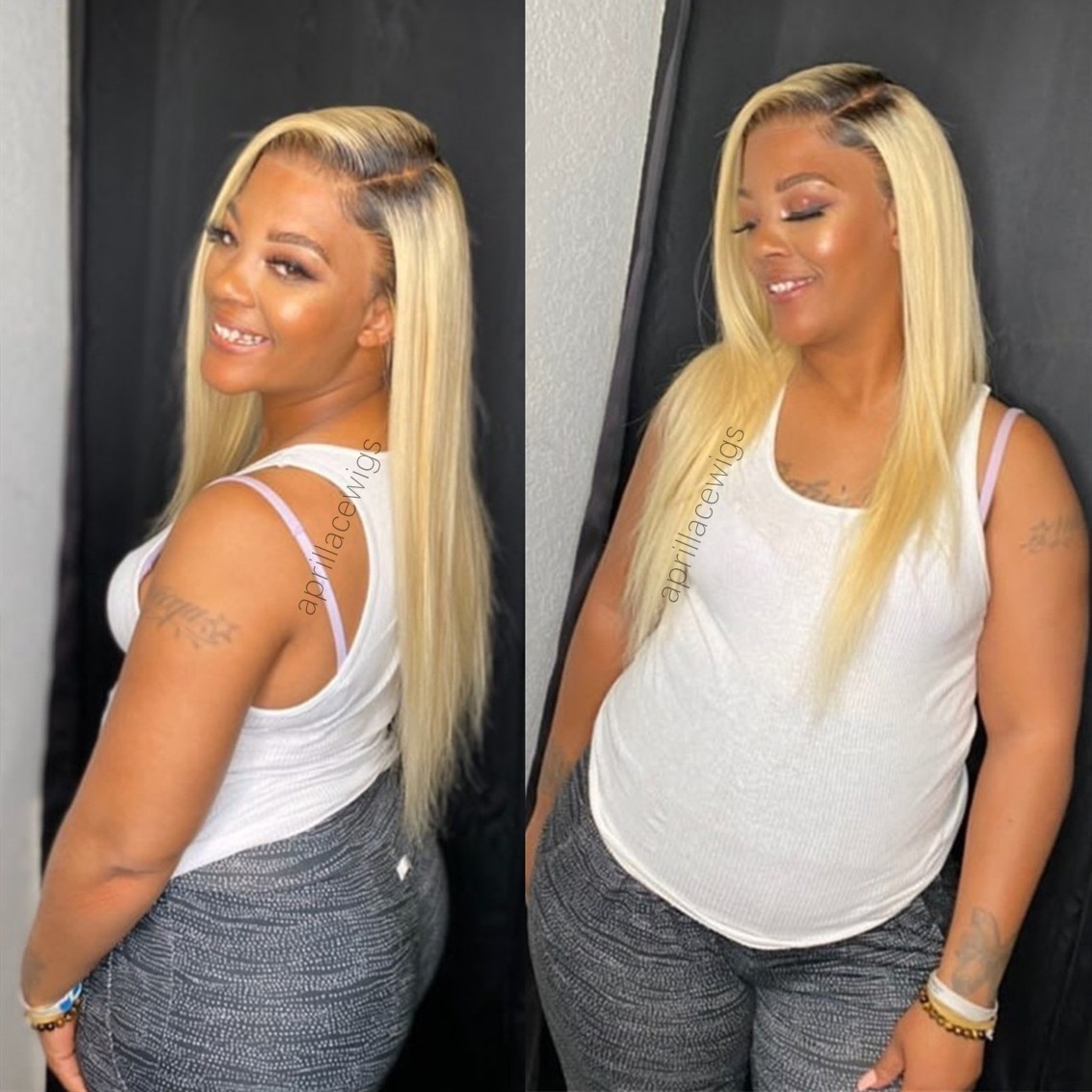 #1b/613 full lace wig blonde full lace wig