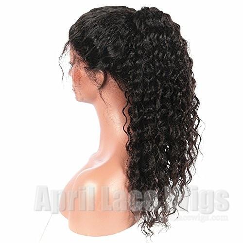 Brazilian virgin Spanish curl 360 wig