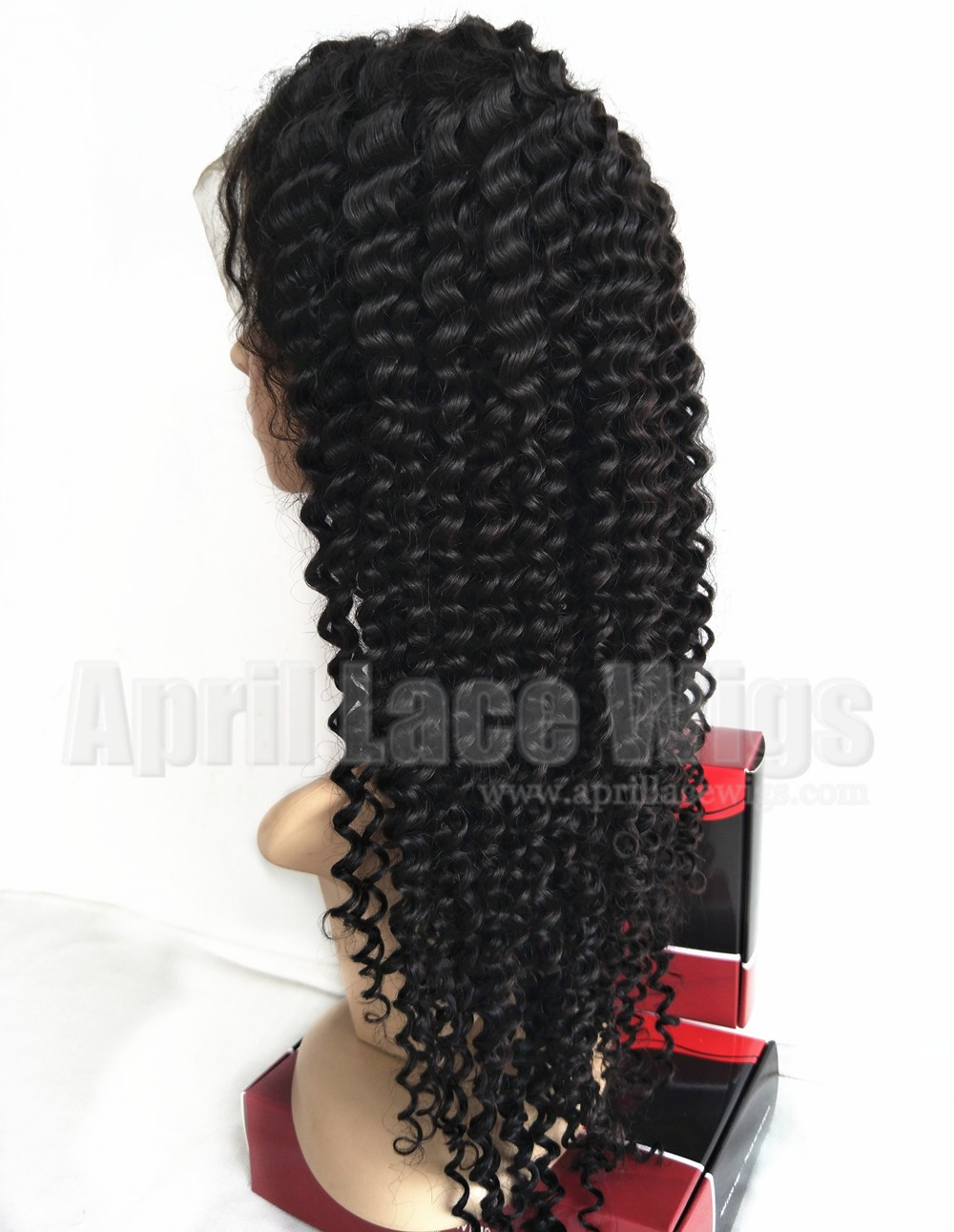 Spanish curly 360 lace wig