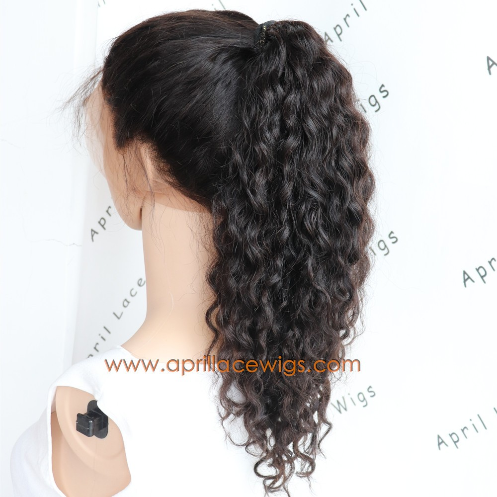 wet wave 360 wig glueless preplucked hairline