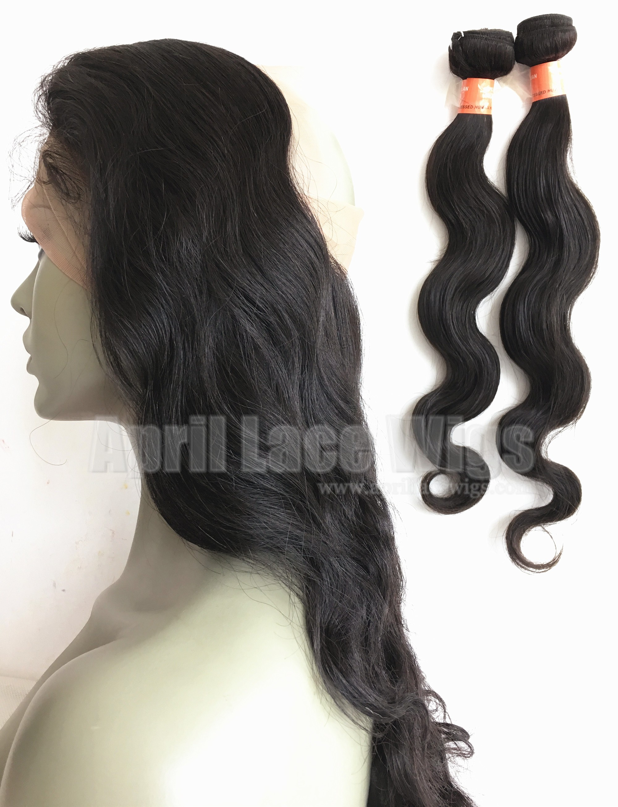 Brazilian body wave 360 frontal and bundles