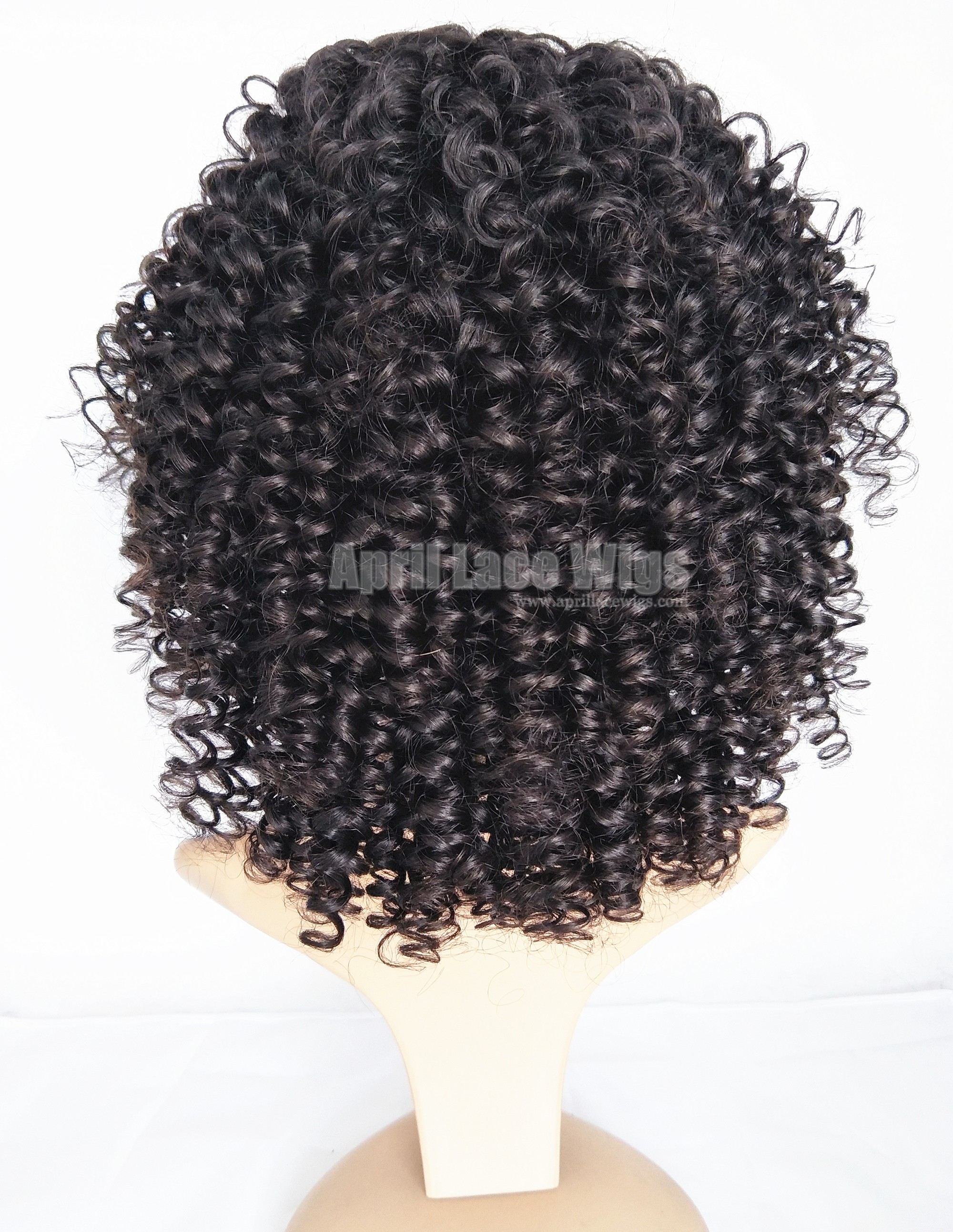 Beautiful Tight Spiral Curl Malaysian virgin 360 frontal Wig