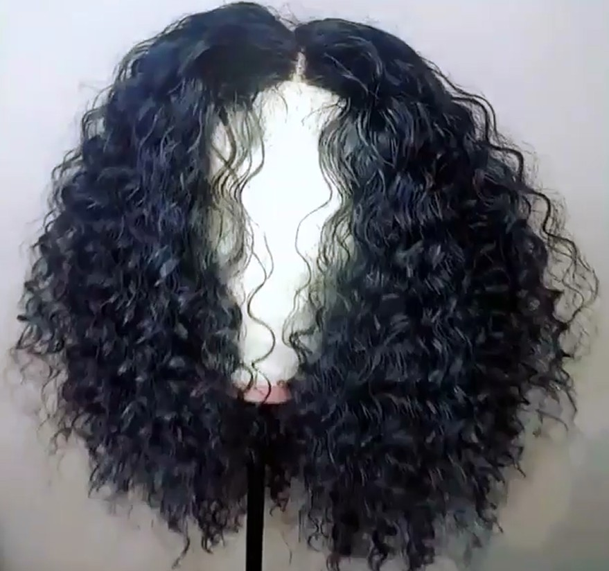 Beautiful Tight Spiral Curl Malaysian virgin 360 Wig