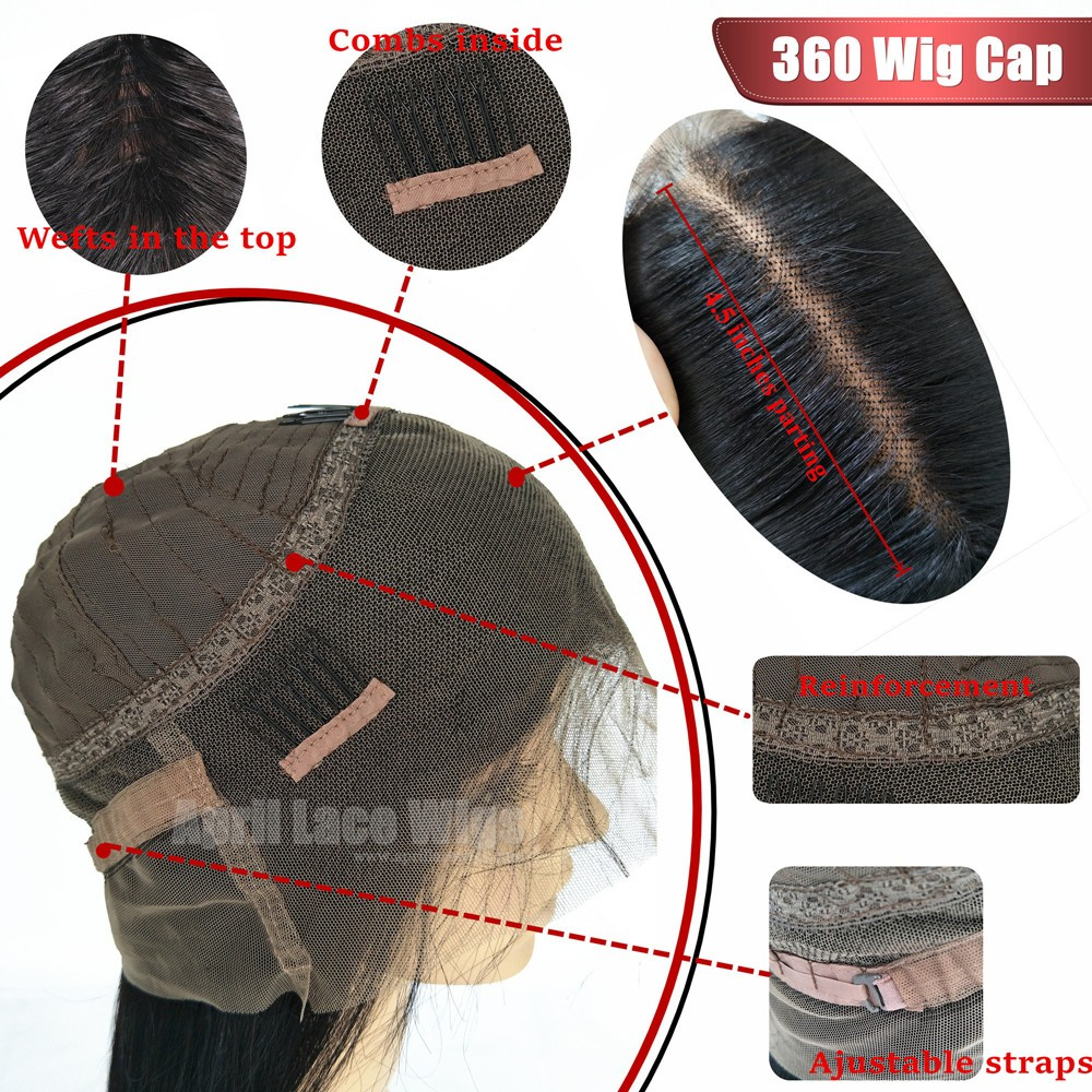 360 wig cap construction