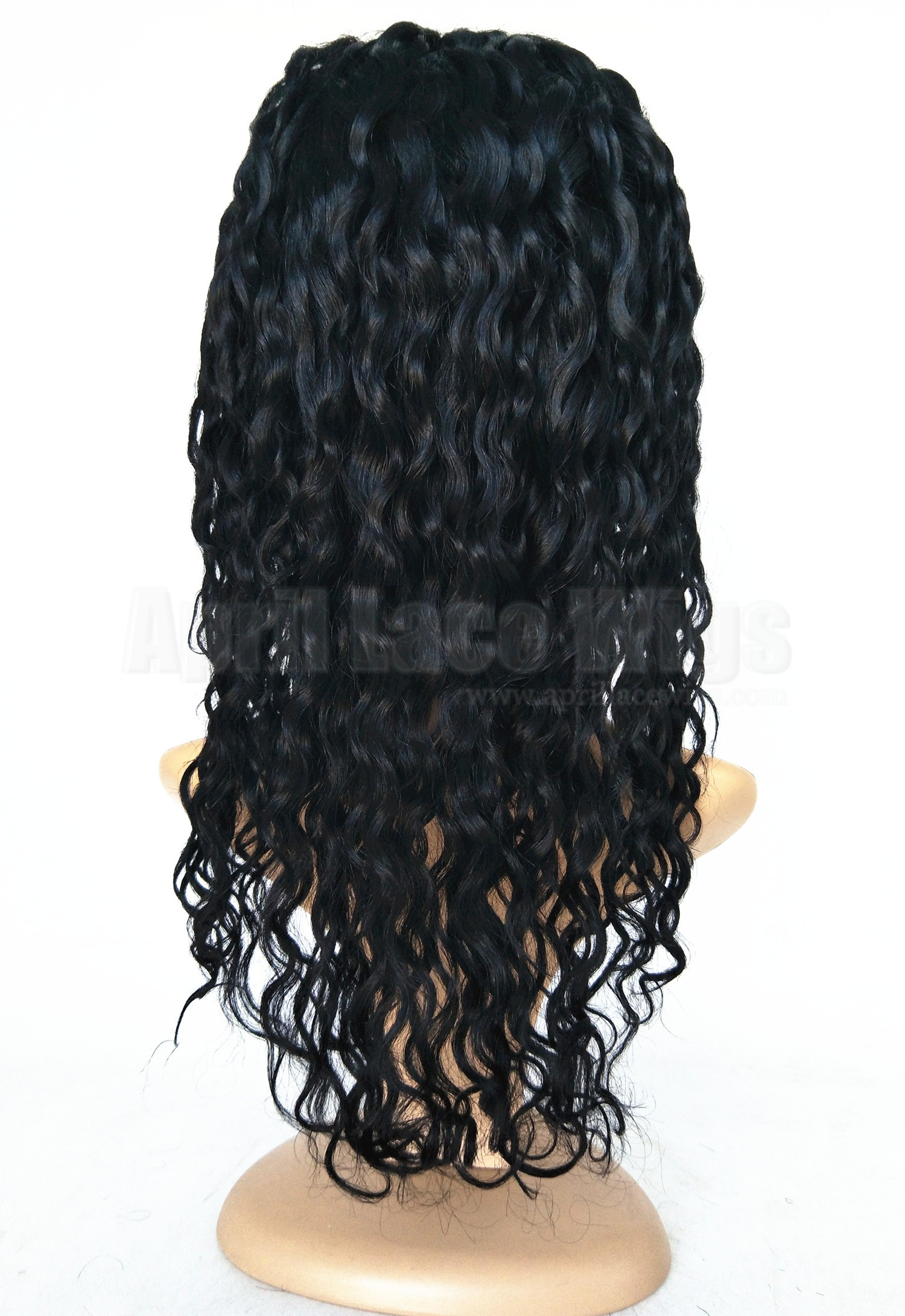 water wave full lace wig, wet wave hair
