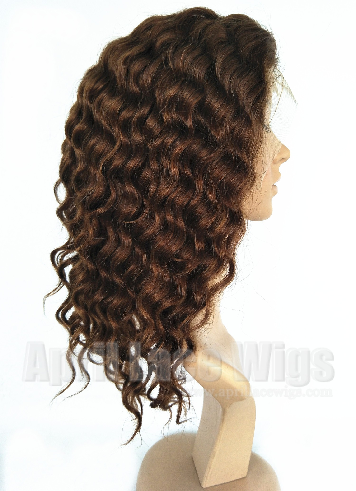 deep wave silk top full lace wig