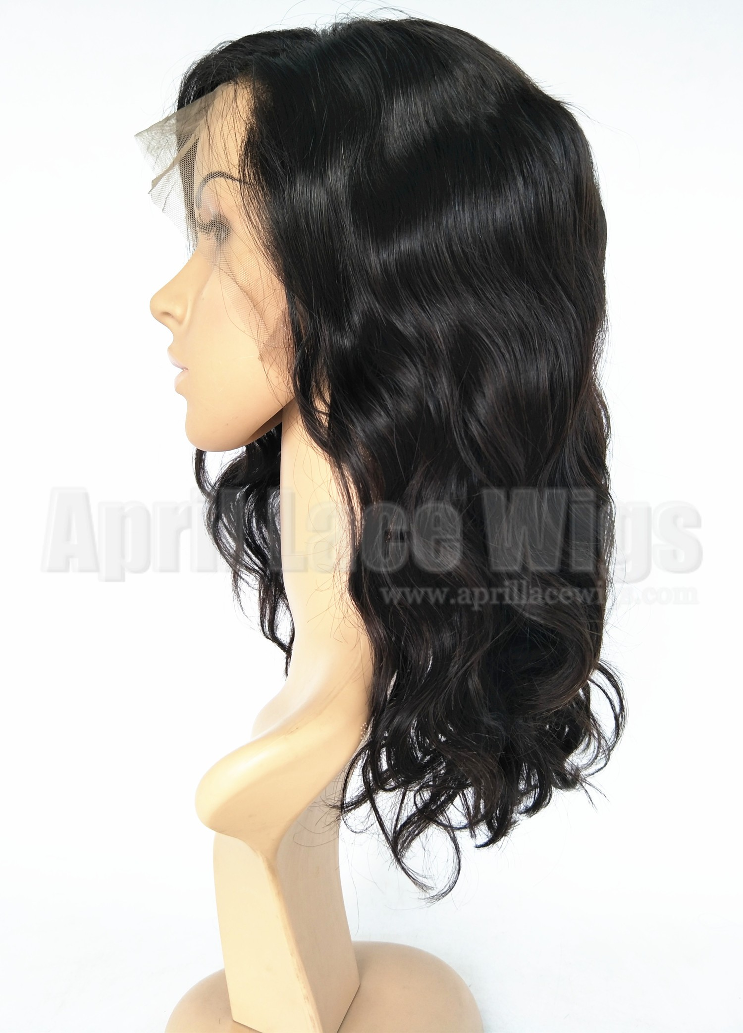 Brazilian virgin soft wavy 360 bob wig