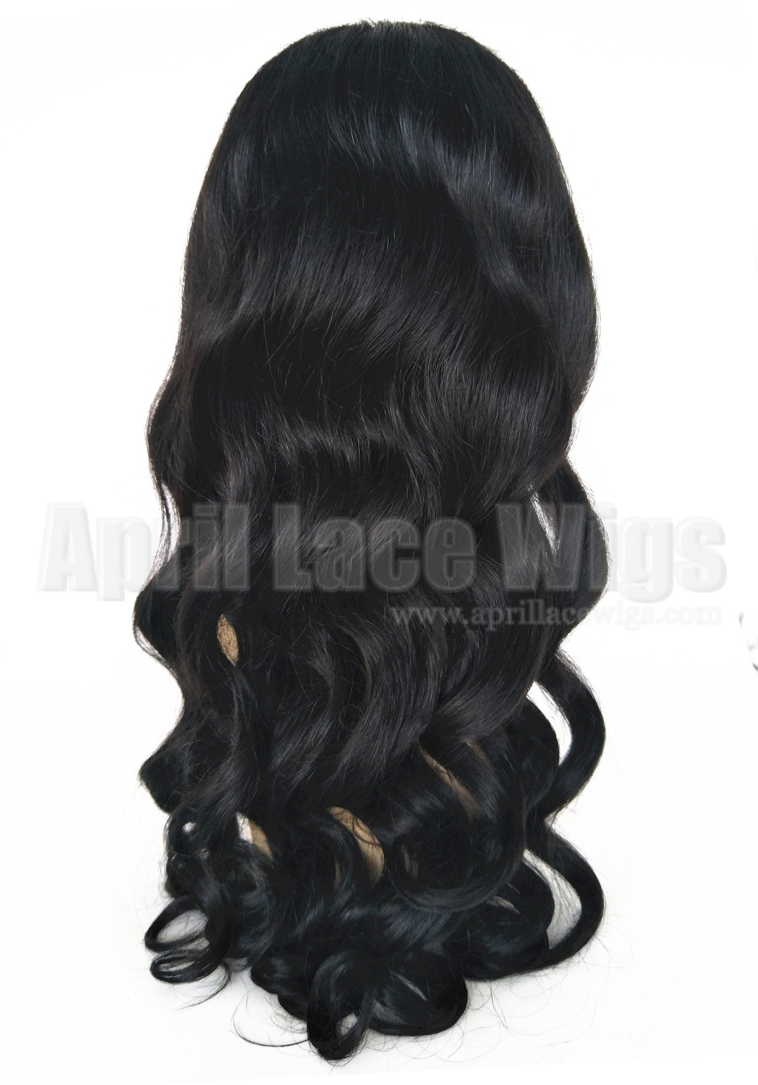 Brazilian virgin loose wave 360 wig silk top