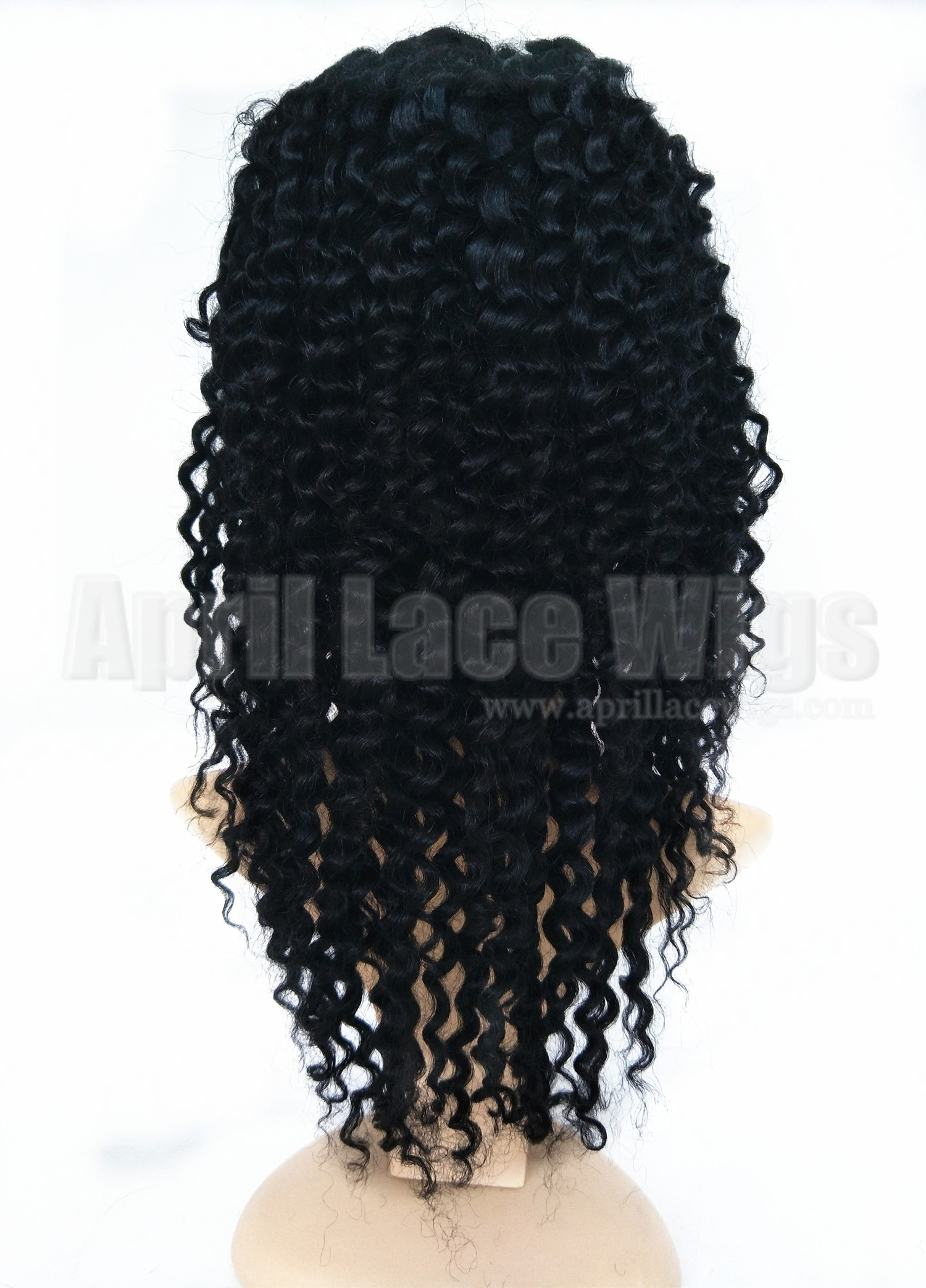 deep wave full lace silk top wig