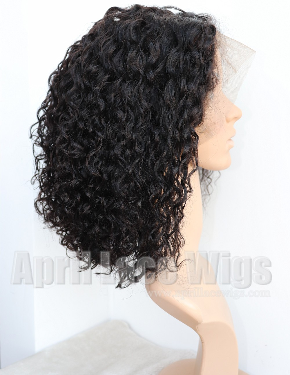 deep curly glueless 360 lace wig preplucked hairline