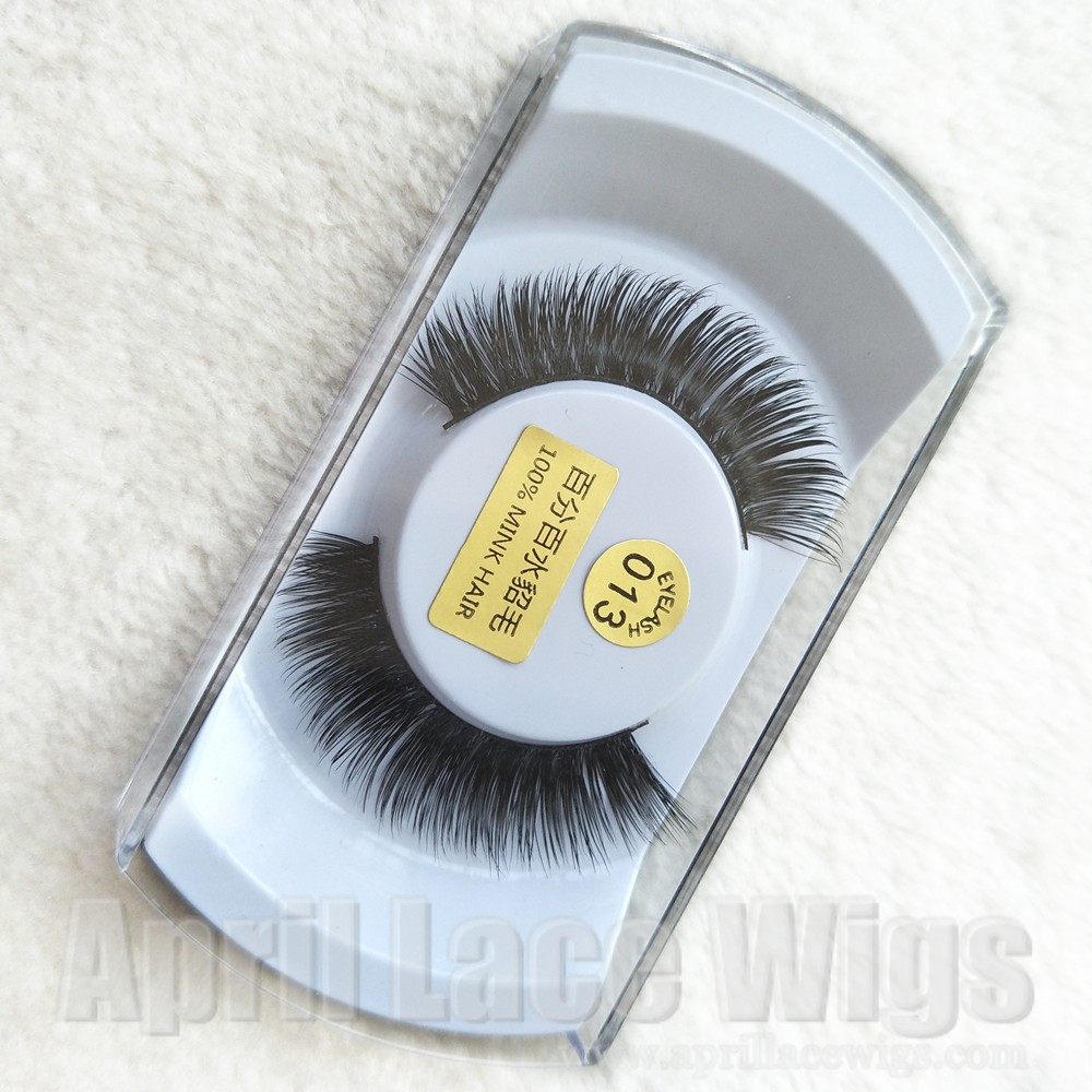 Mink effect false eyelashes