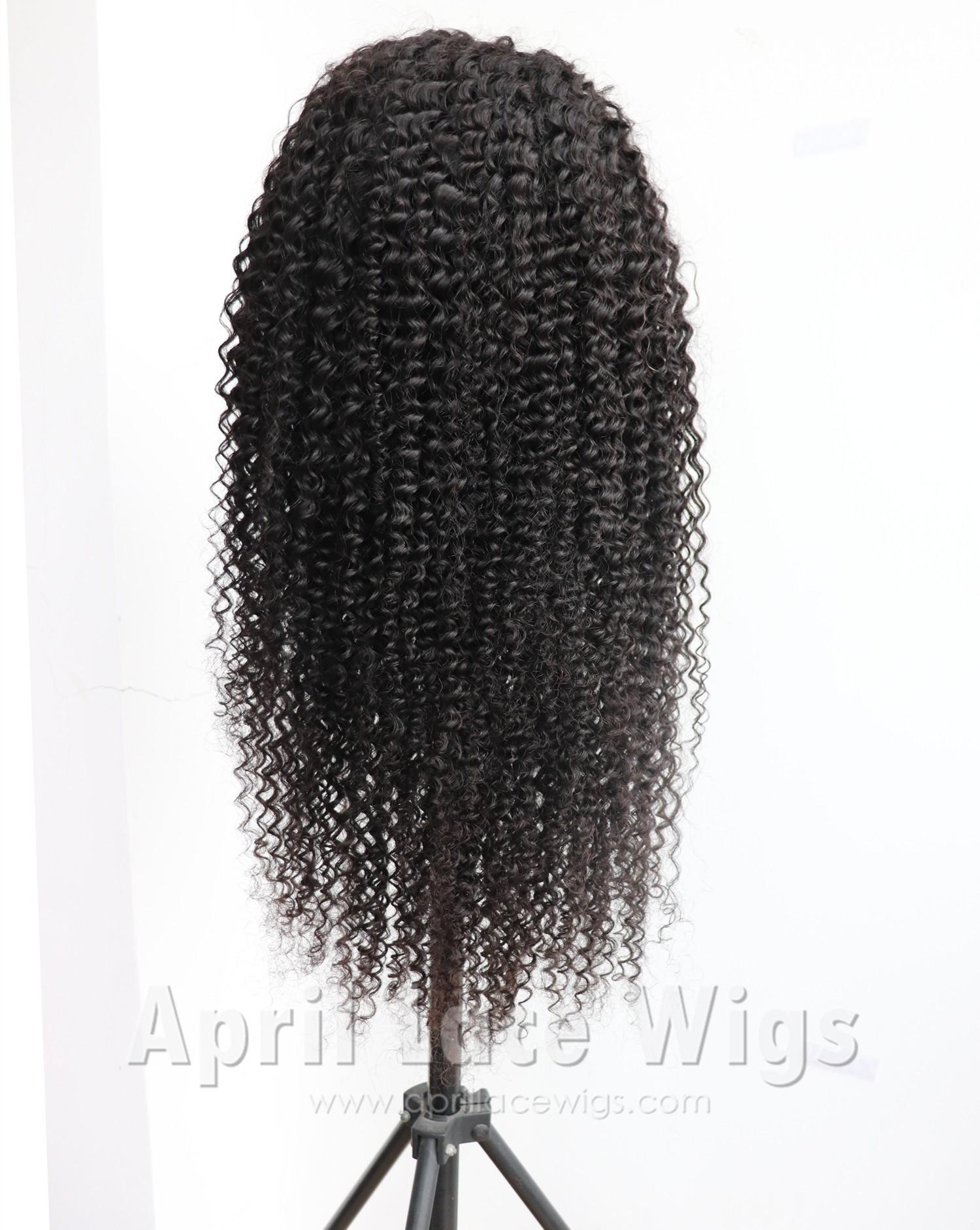 Kinky curl 360 wig
