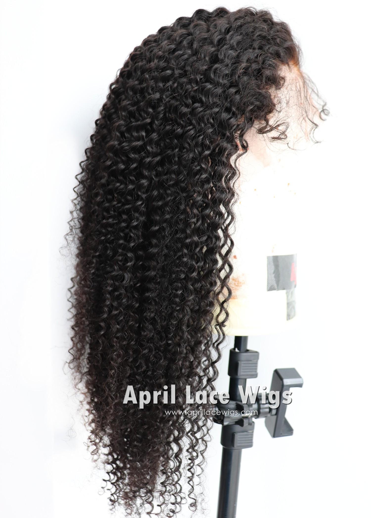 Kinky curly 360 wig