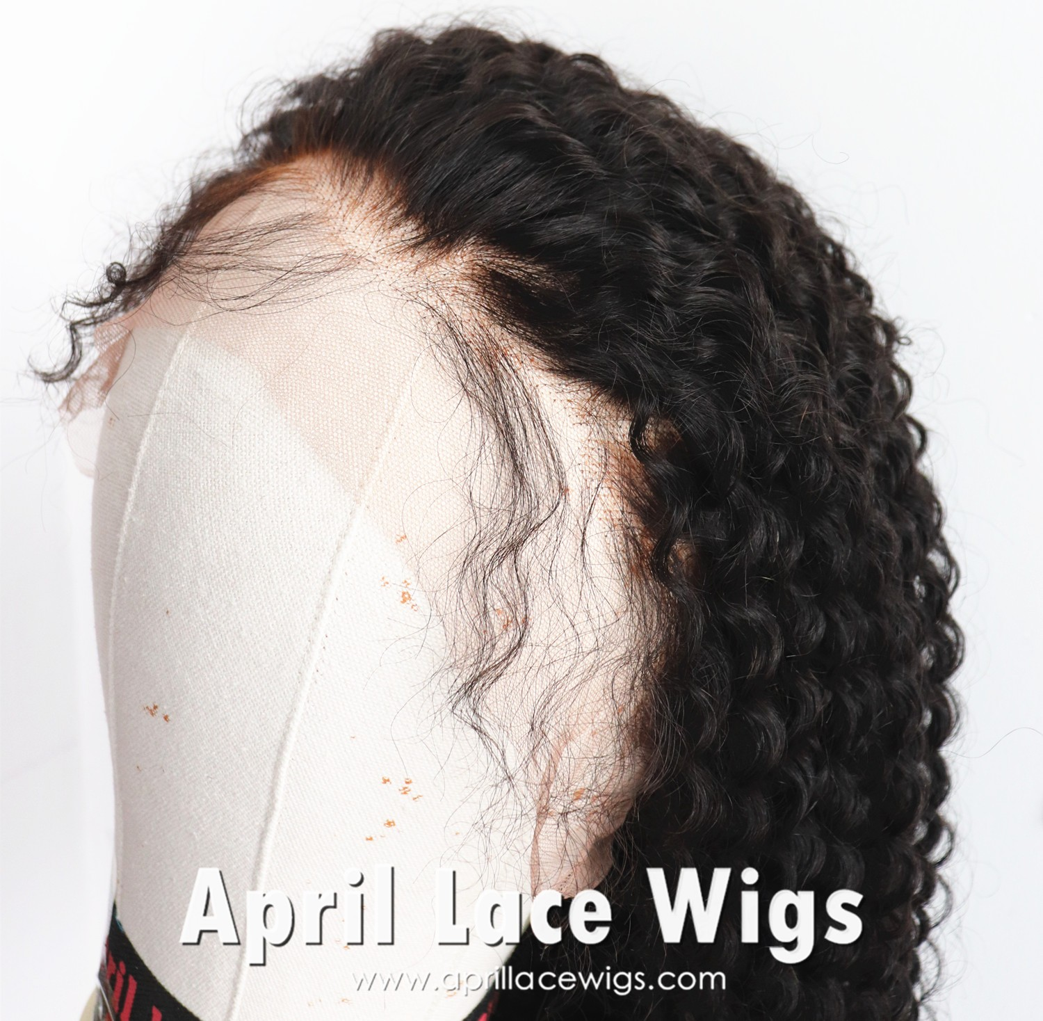 kinky curly glueless wig