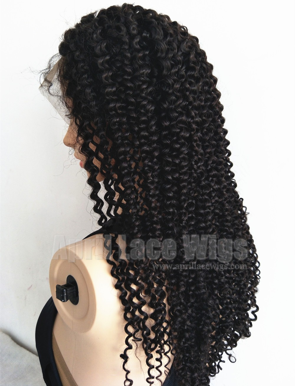 Brazilian virgin pineapple curls glueless 360 wig
