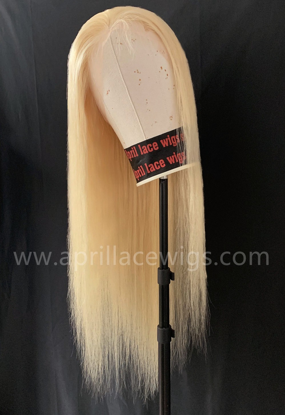 Color 613 blonde Brazilian virgin human hair full lace wig baby hair around