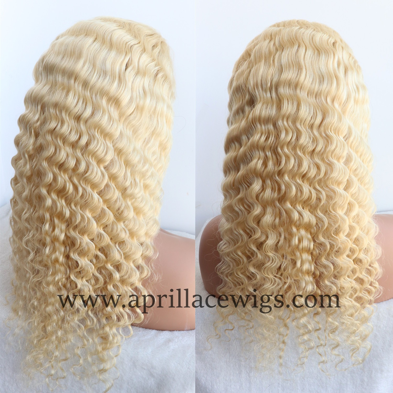 color 613 blonde full lace wig