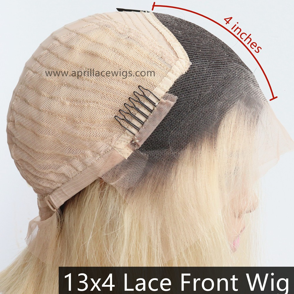 13x4 lace frotn wig #1b/613
