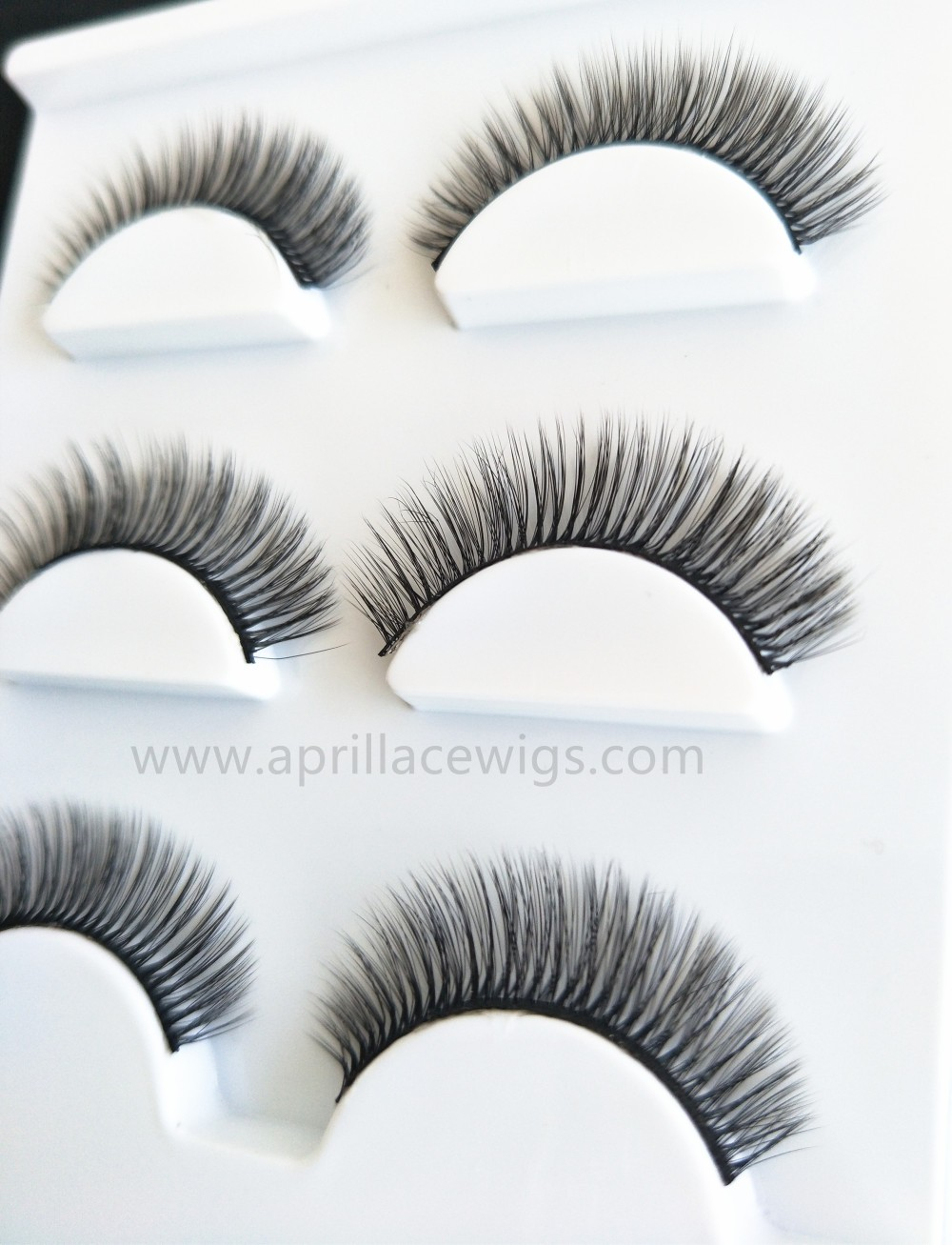 Mink Fur False Eyelashes 3D Silk Eyelashes