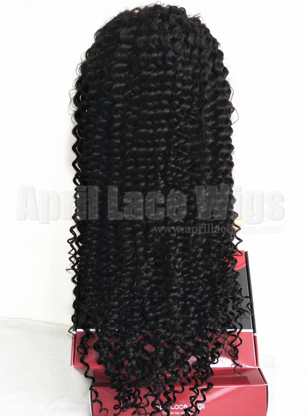 Spanish curl  glueless 13 by 6 lace front wig 150% density preplucked hairline LF0602