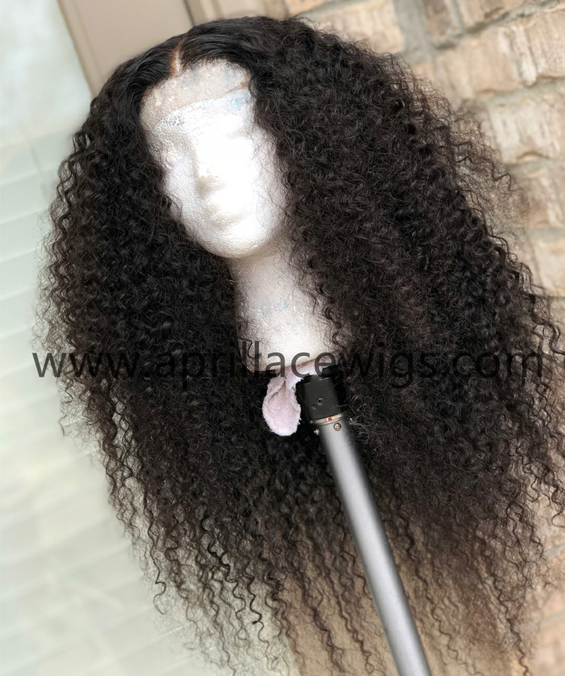 spanish curly13x6 lace front wig glueless