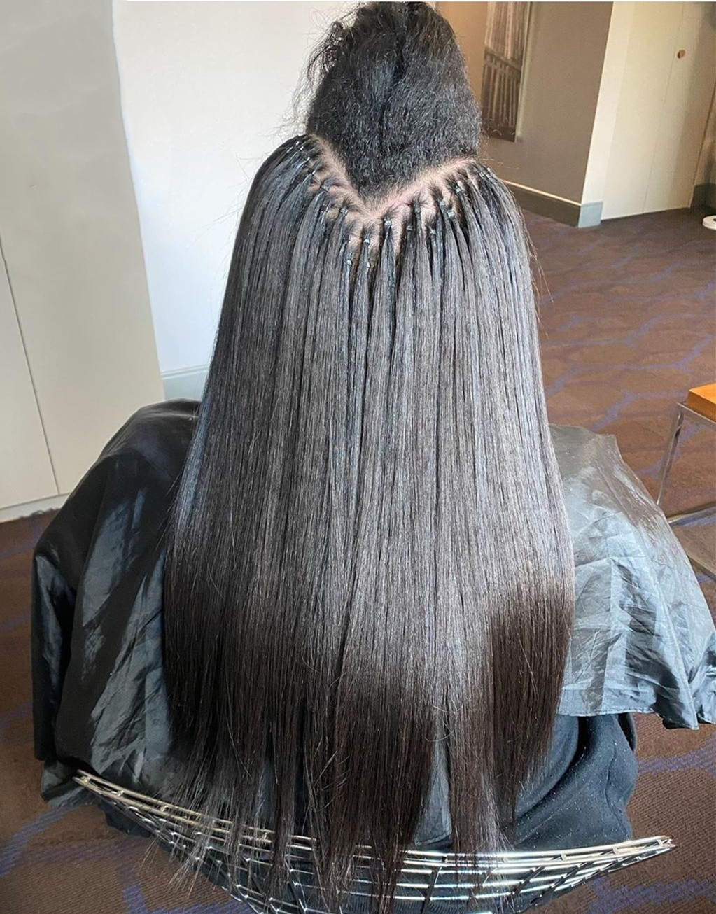 Wholesale 9A Grade Brazilian virgin microlink I tips hair extensions